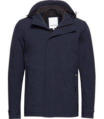 technical field jacket dun jack blauw lindbergh