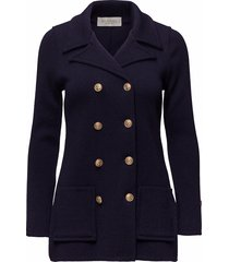 victoria jacket zomerjas dunne jas blauw busnel