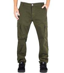 calça alfa cargo verde militar