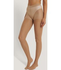 na-kd reborn recycled tights - nude