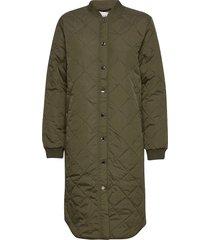 pzelina jacket kviltad jacka grön pulz jeans