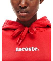 lacoste logo hoodie