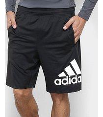 bermuda adidas 4krft badge of sport 9'' masculina