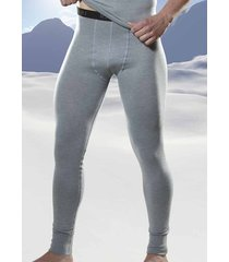 rj bodywear thermo lange onderbroek grijs