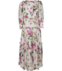 multicolor cotton-blend florencia dress
