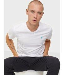 polo ralph lauren short sleeve t-shirt t-shirts & linnen white