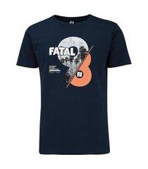 camiseta fatal manga curta estampa 25863 - masculina