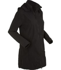 parka in softshell (nero) - bpc bonprix collection