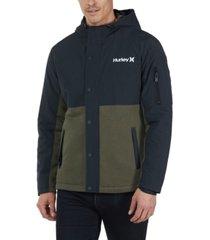 hurley men's brett jacket