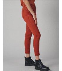 jean rojo desiderata gab slim high waist