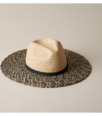 sundance catalog women's ingrid hat in natural/black