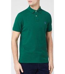 polo ralph lauren men's custom slim fit polo shirt - new forest - xxl