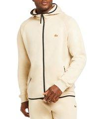 men's lacoste motion regular fit zip hoodie