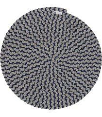 jogo americano orbis mix indigo 6 pecas - 36x36