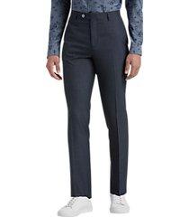 paisley & gray slim fit suit separates dress pants navy sharkskin