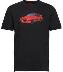 dozeki t-shirts short-sleeved svart hugo