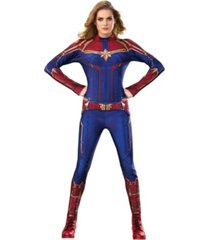 buyseasons captain marvel women's hero suit adult costume