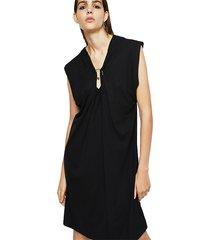 vestido d sule dress negro diesel