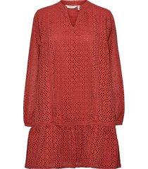 byimmila dress - kort klänning röd b.young