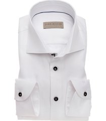 overhemd john miller wit tailored fit