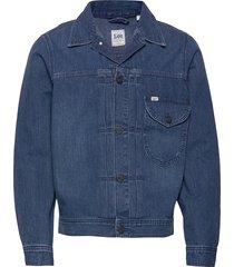 cowboy jacket jeansjacka denimjacka blå lee jeans