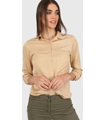 camisa camel tarym