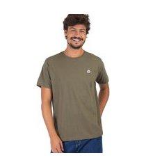t-shirt básica comfort verde militar verde militar/g