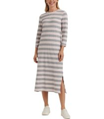 lucky brand striped rugby dress