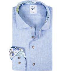 lichtblauw shirt r2 amsterdam