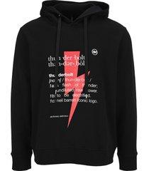 neil barrett thunderbolt definition hoodie