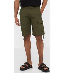jack & jones jjialfa jjcargo shorts akm 904 shorts mörk grön