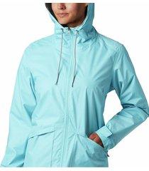 chaqueta azul mar columbia  arcadia casual