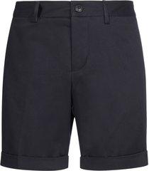 ami alexandre mattiussi cotton chino shorts