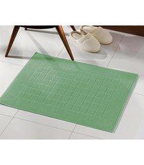toalha de piso dohler, royal, felpudo - verde