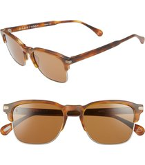 men's raen wiley a 53mm sunglasses - americano