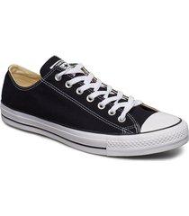 all star canvas ox låga sneakers svart converse