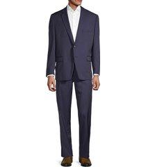 lauren ralph lauren men's lexington-fit wool suit - navy - size 50 r