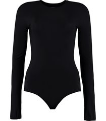 maison margiela long sleeve jersey bodysuit