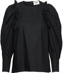 top passion blouse lange mouwen zwart ba&sh