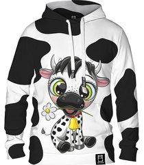 damska bluza z kapturem dr.crow cute cow
