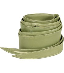 federica tosi leather sash belt