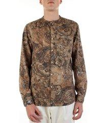 overhemd lange mouw bicolore 3906-euro