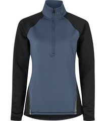 träningströja ua cg armour 1/2 zip color block