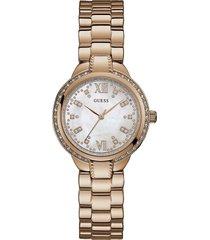 reloj guess mademoiselle/w1016l3 - oro/rosa