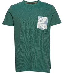 t-shirts t-shirts short-sleeved grön esprit casual