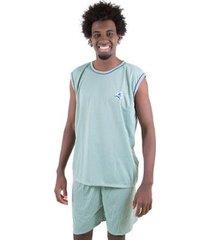 pijama linha noite de malha masculino