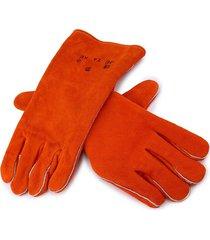 j10-2101 guantes de trabajo de cuero de vaca hombres trabajando guante