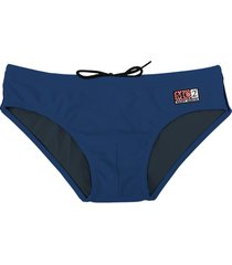 swim brief blue navy