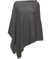 kristannapw po poncho regnkläder grå part two