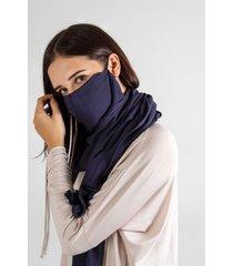 bufanda azul ondademar